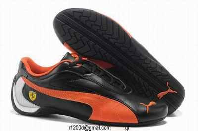 chaussure femme puma cuire